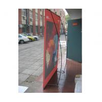 China Telescopic Adjustable 180g PP Paper HP 5500PS L - Banner Stands For Outdoor Display on sale
