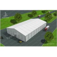 Quality 8M Height PVC Warehouse Storage Tent UV Resistant A-Shaped Roof Top Style wholesale