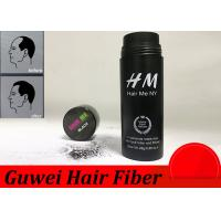 Best OEM 15 Colors Hair Enhancement Fibers , Hair Thinning Concealer wholesale