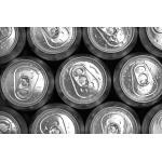 China Epoxy Juice Aluminum Can Lids 200# 202# 206# Easy Open SOT RPT Lid Cap End for sale