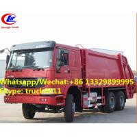 Best Hot selling SINO TRUK HOWO 6*4 16M3 Compressed rubbish Truc, wholesale good price 16m3 garbage compctor truck wholesale