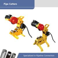 Best Portable Electric Pipe Cutting Machine For 12 Inch , Thread Cutting Machine wholesale
