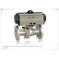 Best Double Action Stainless Steel Motorized Ball Valve / Two Piece Ball Valve wholesale