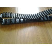 Buy cheap Black Small Snowmobile Rubber Track High Running Speed With 24 Link from wholesalers