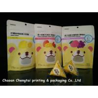 Buy cheap Fruit Gummy Candy Packaging Stand Up Pouch With Ziplock Customized Size from wholesalers