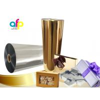 Best Chemically Treated Polyester Metallized Thermal Laminate Film for Offset Printing wholesale