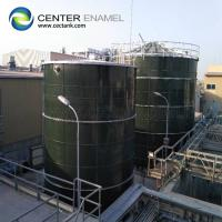 China Enamel Coated SteelDry Bulk Storage Silos WithExcellentCorrosion Resistance for sale