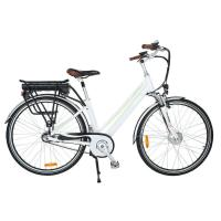 China Max Distance 65KM Electric Commuter Bicycle With Front And Rear LED Light on sale