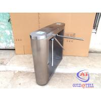 Buy cheap Intelligent Security Tripod Turnstile Gate 220V / 110V Working Power from wholesalers
