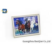 Bedroom Decoration 3D Lenticular Photography / Image Pictures PET / PP Material for sale