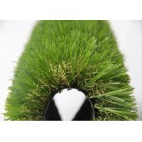 Best Childhood 25MM Fake Grass For Outside , Turf Synthetic Grass Rug 9600 Dtex wholesale