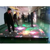 Best Waterproof Intelligent Dance Floor LED Screen Display For Entertainment Center wholesale