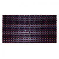 Best Outdoor P10 Single Color LED Module 320mmx160mm Size Damp Proof wholesale