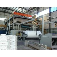 China High Efficiency Non Woven Fabric Making Machine With SIEMENS PLC Control System on sale