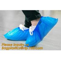 THICK DISPOSABLE,DUST-PROOF,CPE COATED,SMS BOOT COVER,NON WOVEN SHOE COVER,heavy duty polypropylene fabric shoes cover for sale