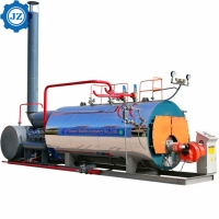 Steam Capacity 1ton, 2ton, 3ton Industrial Gas Oil Fired Packaged Steam Boiler Price List for sale