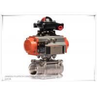 Best Single Acting Ball valve pneumatic Actuator with limit switch OEM service wholesale