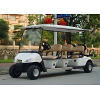 Best Popular Outdoor 6 Seater Golf Cart With Aluminum Rim , 48V Battery Voltag wholesale