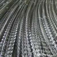 Buy cheap Anti Corrosion Concertina Razor Wire , High Protection Galvanized Razor Wire from wholesalers