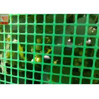 Best Green Plastic Garden Fence Mesh , 1m Height Garden Wire Netting Fence wholesale