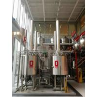 Best 500L Automatic Craft Beer Brewing Equipment Electrical Or Steam Boiler wholesale