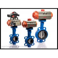 Best 90 Degree Quarter Turn Pneumatic Actuator With Pneumatic Actuated Wafer Butterfly Valve wholesale