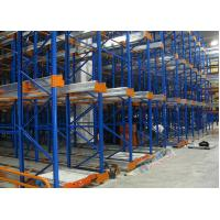 Cheap Freezers Radio Shuttle Racking 2 Aisles Heavy Load Industrial Pallet Racks Customized for sale