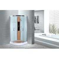 Quality Comfort Waterproof Curved Corner Shower Enclosure Kits Free Standing Type wholesale