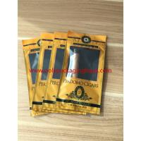 Best European And American Cigar Moisturizing Plastic Zipper Bags With Humidified System wholesale