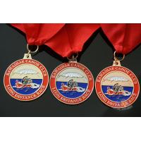 Best Rowing Gifts Competition Medals And Medallions Sports Day Medals With Red Ribbon wholesale