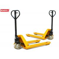 Buy cheap TUV 5 Ton Hydraulic Hand Pallet Truck For Wharf , 54mm Fork Thickness from wholesalers
