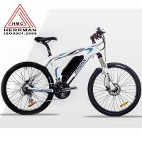 China Carbon Fiber Frame Off Road Electric Mountain Bikes With 48V 10.4Ah Lithium Battery on sale