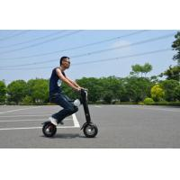 China 2 Wheel Foldable Electric Scooter Battery Powerd Eco Friendly Grip on sale