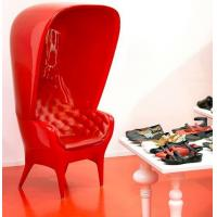 Best Hat Style Fiberglass Arm Chair Modern Relaxing Durable FRP For Leisure wholesale
