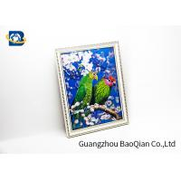 Pet Material Custom Lenticular Printing , Birds 3D Pictures Of Animals 0.6MM for sale