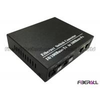 Buy cheap Cascading 10/100Base-Tx Bi-Di Fiber Media Converter Fiber Ethernet Switch Converter from wholesalers