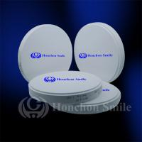 Best 98.5mm ST Translucent Monolayer Zirconia Blocks Dental Zrconium Disk CADCAM Milling Blanks wholesale
