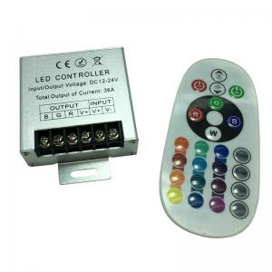 Best Adjust Brightness Steel Material 24mm RF RGB Controller wholesale
