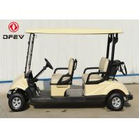 Quality Club Car Precedent Four Passenger Golf Cart  Electric With Curtis Controller wholesale