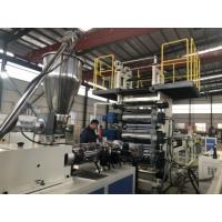 Buy cheap 0.5-2mm Rigid PVC Sheet Extrusion Line Customized Product Width With Protective from wholesalers