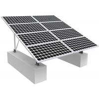 Best Solar Photovoltaic RV Solar Mounting Systems , 0-60 Degree Solar Panel Roof Mounting Kits wholesale
