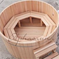 Quality ISO High grade luxury Portable wooden barrel SPA Hot Tub for Outdoor used wholesale