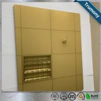 Best High Strength Copper Composite Panel Brushed Mirror Bacteriostatic Decoration wholesale