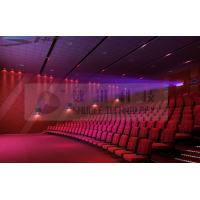 Best Motion Theater Chair Cinema 3D System With Projectors / Sound System wholesale