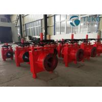 Buy cheap Manual Operated Heavy Duty High Pressure Slurry Pinch Valve For Ash & Powder from wholesalers
