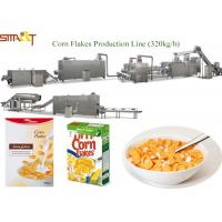 Buy cheap Professional Corn Flakes Production Machine Extruded Maize Flake Machinery from wholesalers