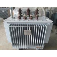 Cheap Outdoor Amorphous Alloy Core Transformer , SBH15 Series Oil Immersed Transformer for sale