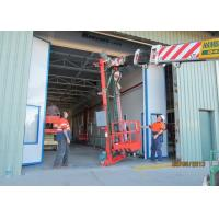 Cheap Both Side Draft Vehicle Paint Spray Booth High Precision 20X5X5 M Internal Size for sale