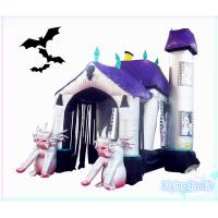 Quality 5m(L)*3m(H)*2m(W) Oxford Inflatable Halloween Arch for Party and Decoration wholesale