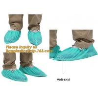 Disposable Blue waterproof rain boot/shoe covers,rain cover for shoes,Eco-friendly Professional Shoe cover made in China for sale